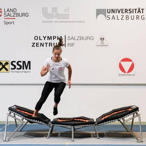 Auch der A-Kader trainiert im Olympiazentrum Salzburg Rif mit dem Alpha Champ