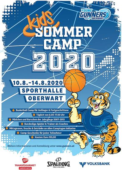 Young-Gunners Sommer Camp in Oberwart