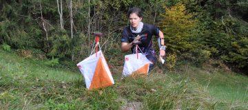 Carina Polzer bei den OL Staatmeisterschaften