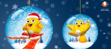 UGOTCHI Weihnachtsmotiv