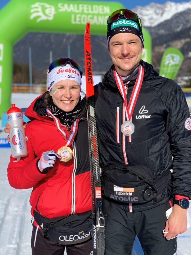 Habenicht mit Freundin Lisa Unterweger