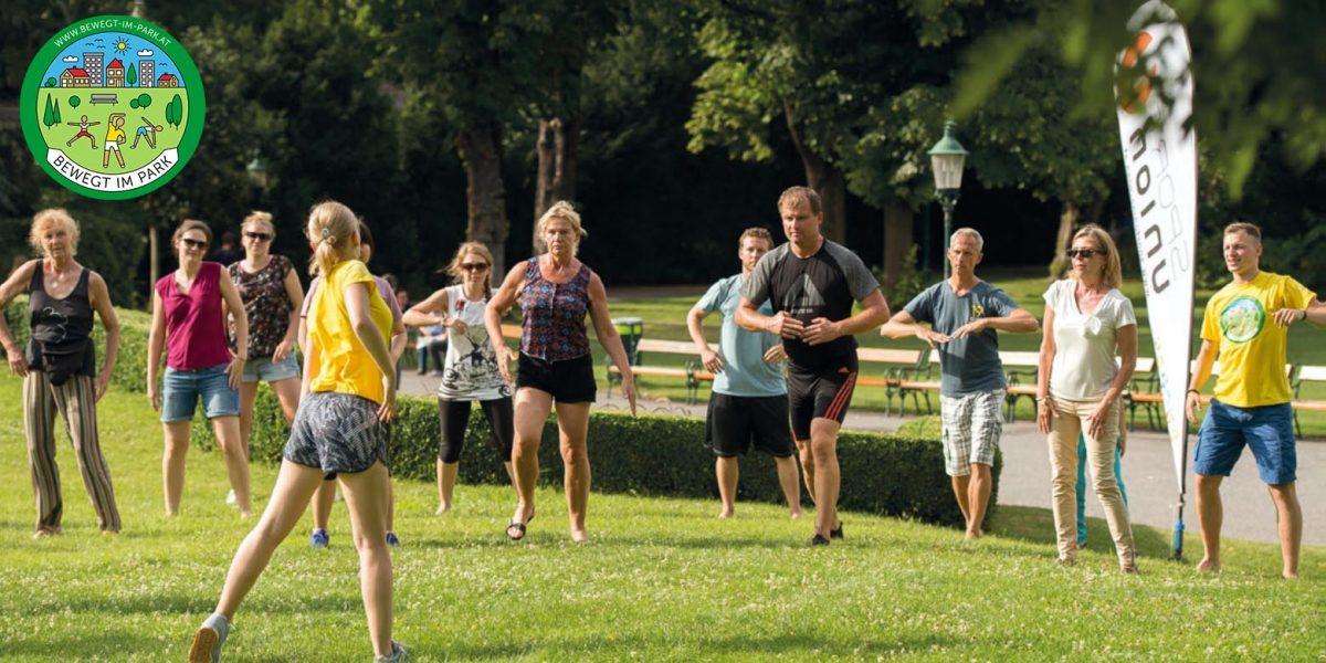 Bewegt im Park