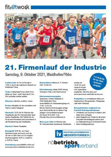 21. Firmenlauf Waidhofen