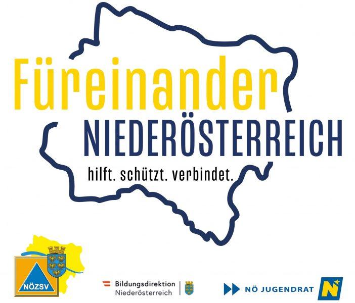 LOGO Füreinander Niederösterreich