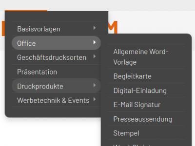 Plattform-Navigation