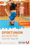 Titelseite SPORTUNION Akademie Kursprogramm 02-08/2021