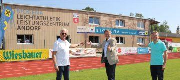 Eröffnung Leichtathletikzentrum Andorf