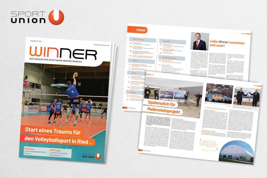 Magazin Winner ab sofort zum Lesen