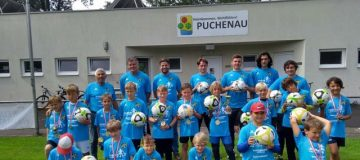 Soccercamp Union Puchenau Gruppenfoto