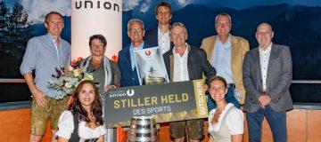 Stiller Held des Sports der SPORTUNION OÖ - Siegerbild