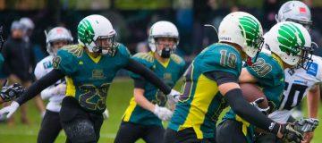 Spiel der Salzburg Ducks U18 gegen die Swarco Raiders Tirol