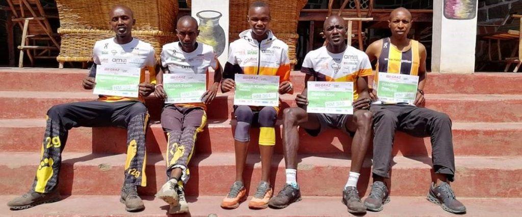 Teilnehmer aus Kenia Graz Marathon 2020
