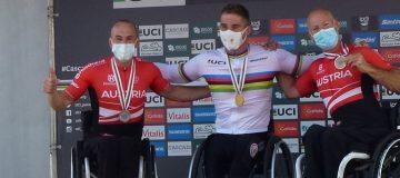 Silbermedaille TiggerTom Paracycling WM