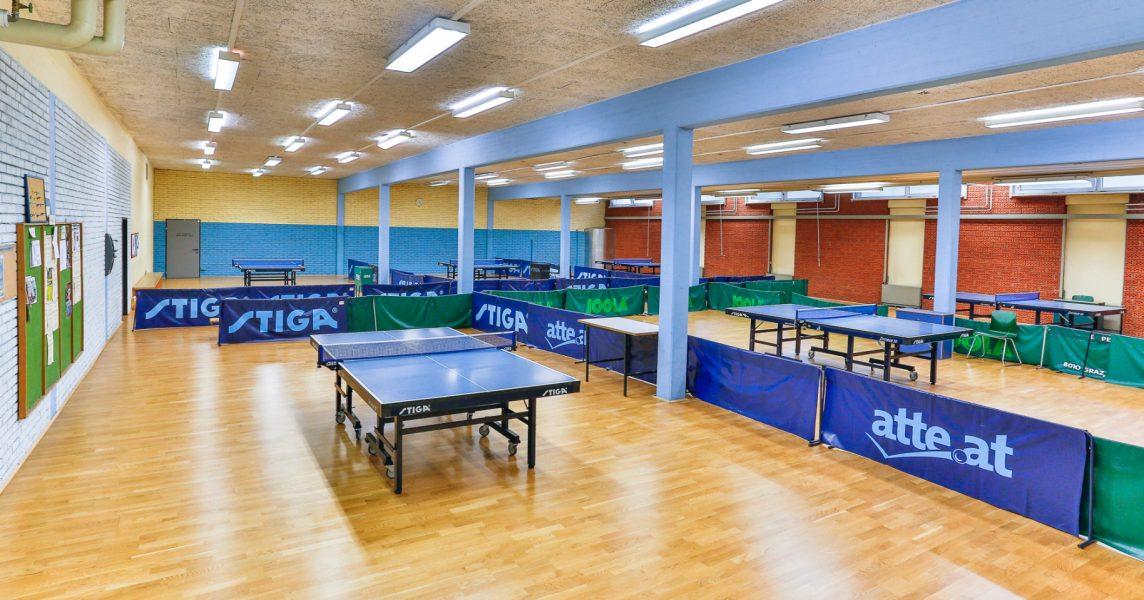 Tischtennishalle
