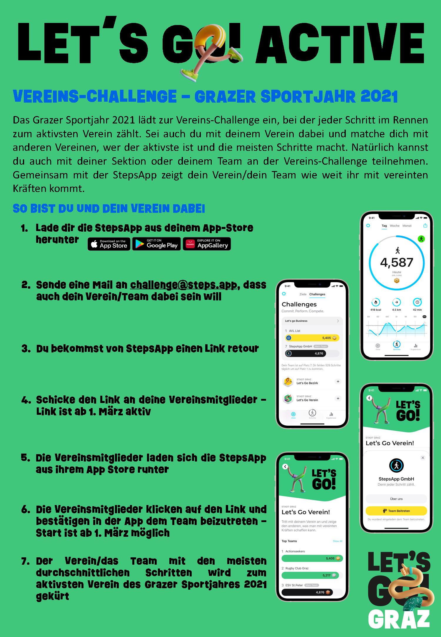 Lets Go Graz Challenge