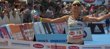 Eva Wutti Marathon Wien