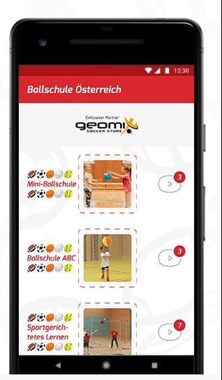 Ballschule App ScreenshotBallschule Screenshot