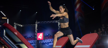 SPORTUNION Wild Card bei Ninja Warrior auf Puls4