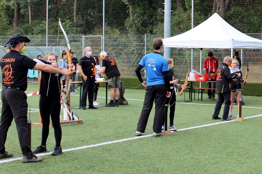 Bogensporteinheit beim Trendsportfestival 2020 der Sportunion Wien