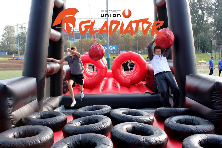 Gladiator beim Trendsportfestival 2020 der Sportunion Wien