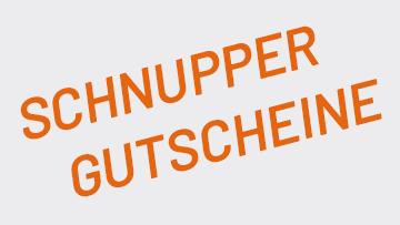 Schnupper Gutscheine der SPORTUNION Wien