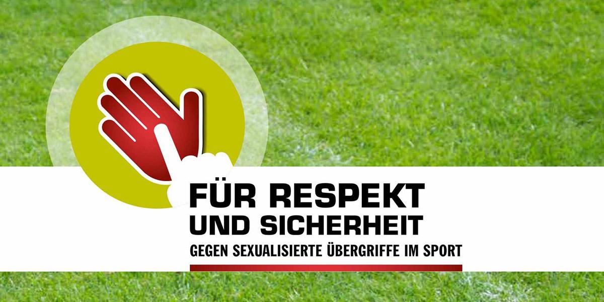 """Logo des Projekts """"Für Respekt und Sicherheit"""""""
