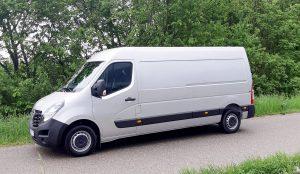 Opel Movano der SPORTUNION Wien