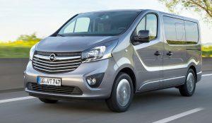 Opel Vivaro der SPORTUNION Wien