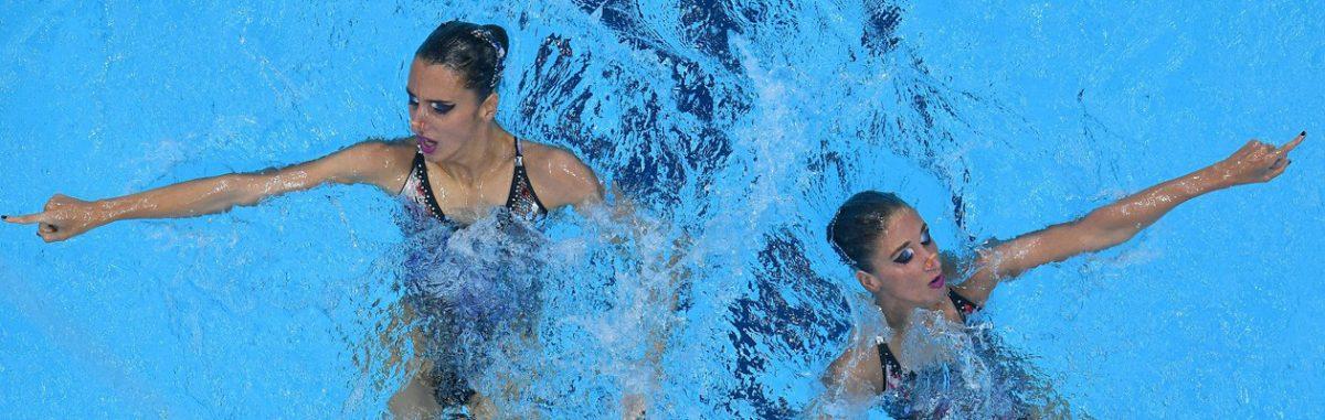 Alexandri Schwestern der Schwimm-Union Wien Olympia