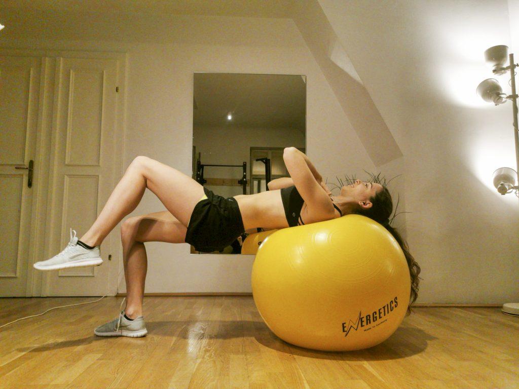 Bridging Übung Rücken