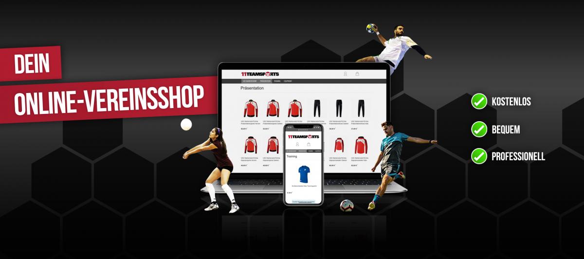 11teamsports-vereinsshops-Website