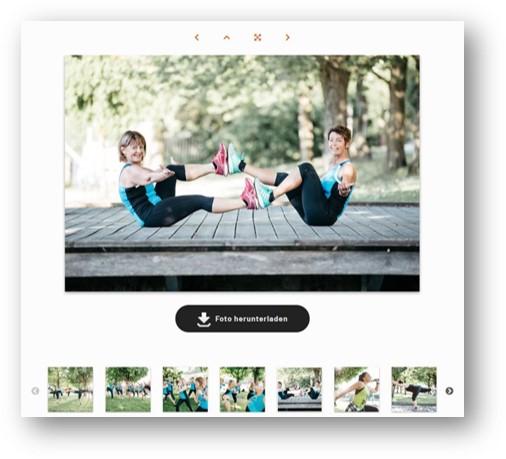 SPORTUNION Fotoplattform