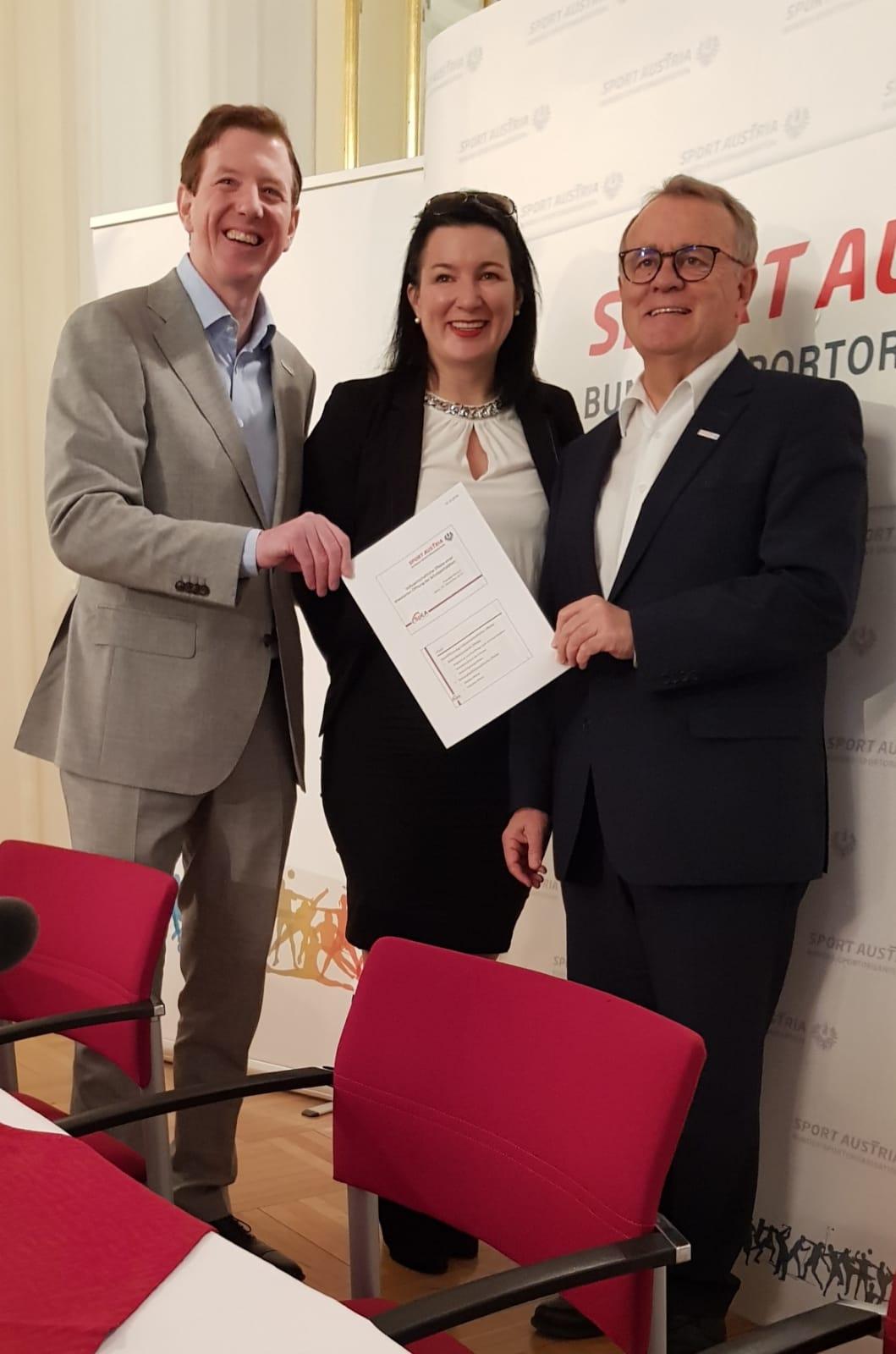 Peter McDonald, Anna Kleissner,Hans Niessl
