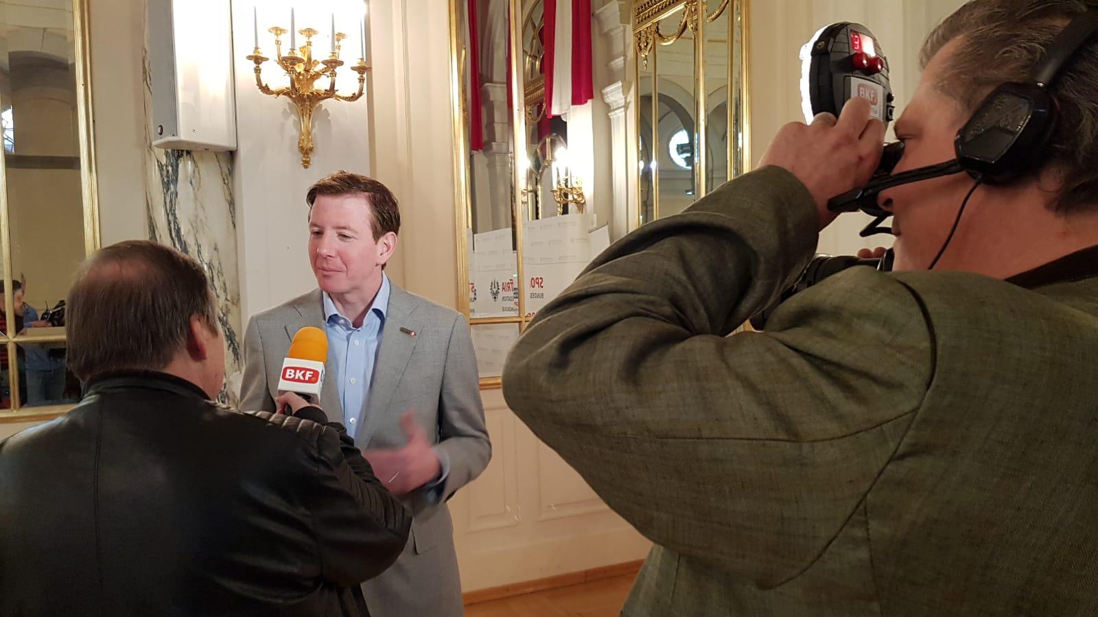 Peter McDonald Interview