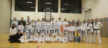 Gruppenfoto Taekwondo SONBAE Korneuburg