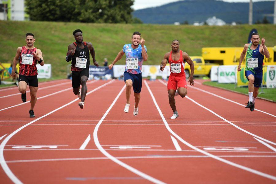 100m Sprint Herren