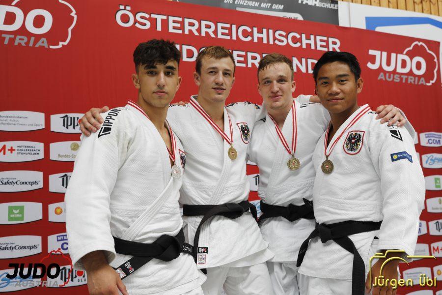 von links: Samuel Gaßner, Jakob Wiesinger, Benedikt Rechberger, Richard Pröll