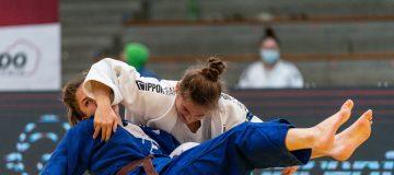 Lisa Tretnjak beim Kampf