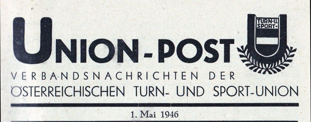 "Erste ""UNION-POST"""