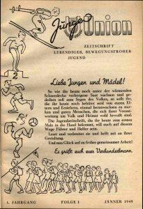 """1. """"Junge Union"""""""