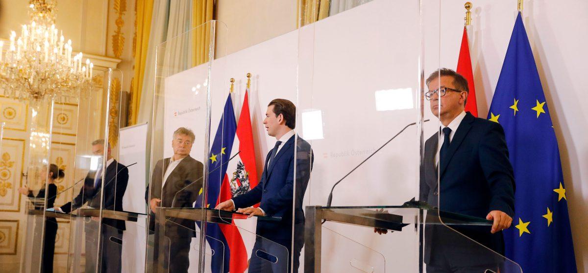 Pressekonferenz BKA zu den neuen Corona-Maßnahmen