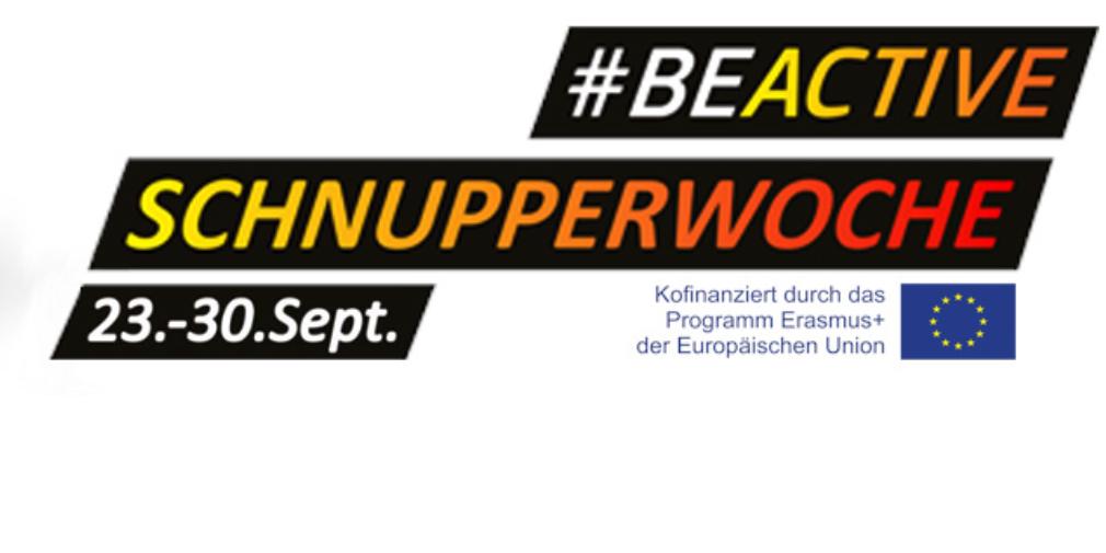 Foto: #BeActive Schnupperwoche