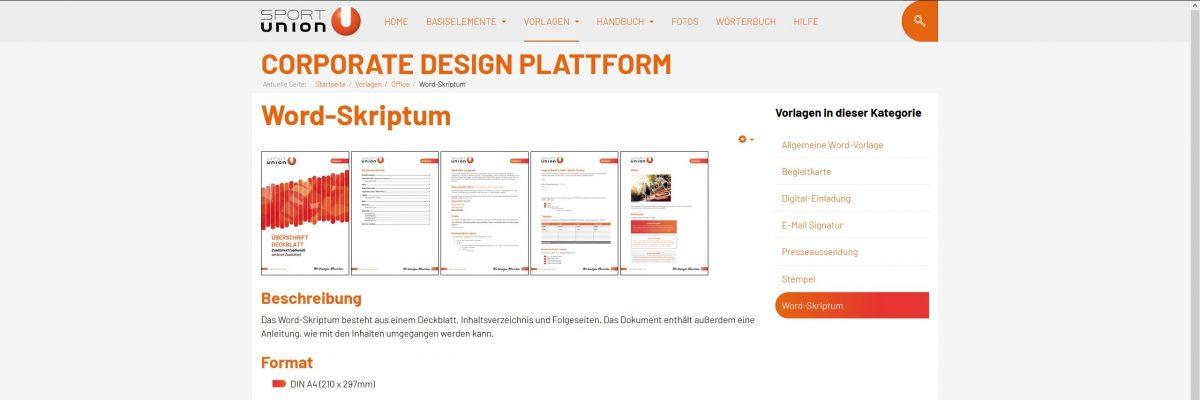 CD-Plattform Screenshot