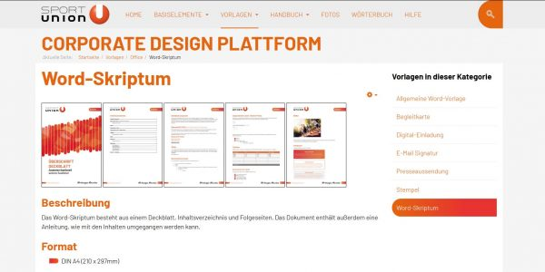 CD-Plattform Screenshot