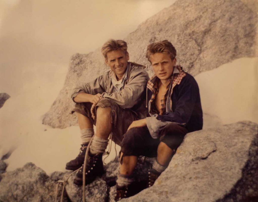 Gunnar Prokop mit Kurt Ring