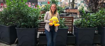 Kinderwelt-Bundesobfrau LAbg. Julia Wagentristl mit Ugotchi