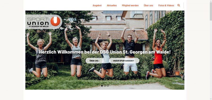 Startseite UNION DSG St. Georgen am Walde