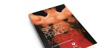 """""""Sport prägt Menschen"""" Buch Cover"""