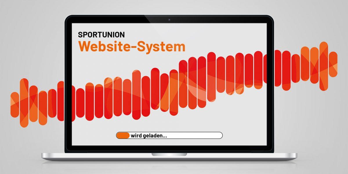 Laptop mit SPORTUNION Inhalt