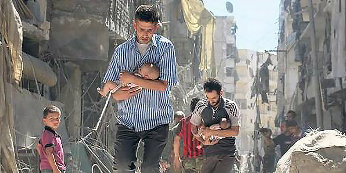 verfolgte Christen in Syrien